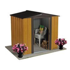 Woodlake 6ft. W x 5ft. D Steel Storage Shed