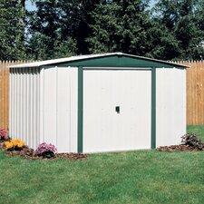 Hamlet 10' W x 8' D Steel Storage Shed