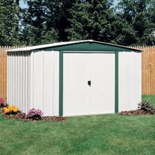 Hamlet 8ft. W x 6ft. D Steel Storage Shed