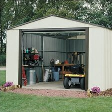 Murryhill 12' W x 17' D Vinyl Coated Steel Storage Shed