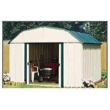 Sheridan 10' W x 8' D Steel Storage Shed