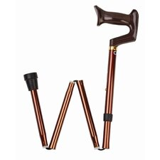 <strong>Carex</strong> Folding Adjustable Cane with York Handle