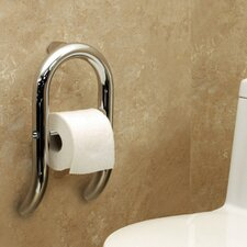Invisia Toilet Paper Dispenser and Integrated Support Rail