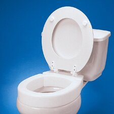 Standard Hinged Raised Toilet Seat