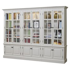 "<strong>A&E Wood Designs</strong> French Restoration Brighton 86"" Bookcase"