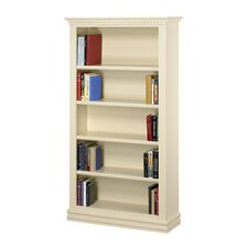 "Hampton 84"" Bookcase in Pearl White"