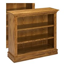 "Britania 36"" Oak Bookcase"