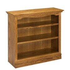 "Americana 36"" Oak Bookcase"