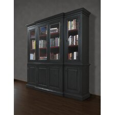 "<strong>A&E Wood Designs</strong> French Restoration Chelsea 84"" Bookcase"