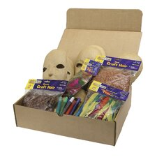 <strong>Chenille Kraft Company</strong> Papier Mache Masks Activity Box