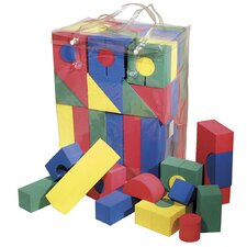 WonderFoam 68 Piece Blocks Set