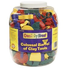 <strong>Chenille Kraft Company</strong> Colossal Barrel of Clay Tools