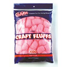 <strong>Chenille Kraft Company</strong> Craft Fluffs Pink