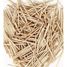 <strong>Chenille Kraft Company</strong> Mini Craft Sticks 500 Pcs Natural