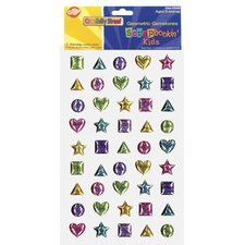 <strong>Chenille Kraft Company</strong> Scrapbookin Kids Gemstones Shapes