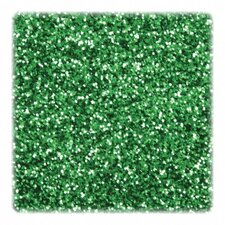 Glitter, in Shaker Jar, 1 lb., Green