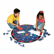 Wonderfoam Solar System Floor Puzzle Mat (Set of 66)
