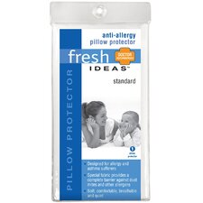 <strong>Fresh Ideas</strong> Anti-Allergy Pillow Protector 6-Pack