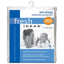 <strong>Fresh Ideas</strong> Anti-Allergy Polyester Mattress Protector