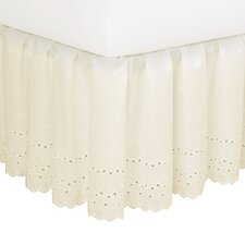 <strong>Fresh Ideas</strong> Eyelet Bed Skirt