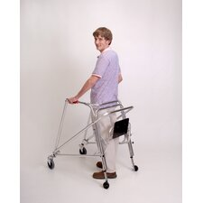 Large Walker Front Swivel Leg