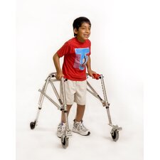Youth Walker with Silent Wheels & Legs