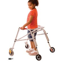 Wide Youth Walker with Silent Wheels & Legs