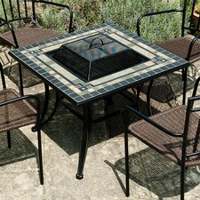 Miranda Square Slate Bistro Table