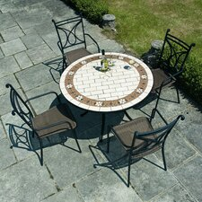 Sofia 5 Piece Round Dining Set
