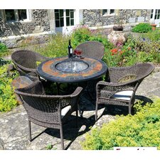 Durango 5 Piece Round Tall Dining Set