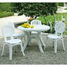 Nardi 5 Piece Round Dining Set