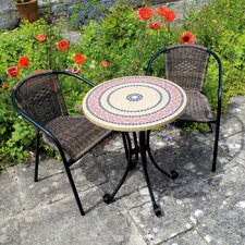 Summer Terrace 3 Piece Dining Set
