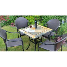 Vinaros Square Standard Dining Set with Treviso Chair