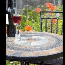 Villena Low Round Bistro Table