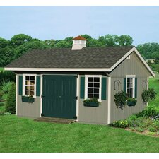 Bungalow Wood Garden Shed