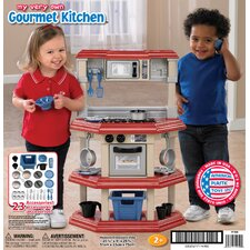 <strong>American Plastic Toys</strong> 23 Piece My Very Own Gourmet Kitchen Set