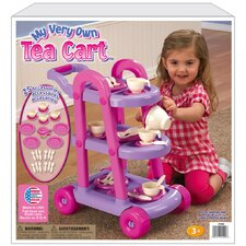 <strong>American Plastic Toys</strong> 25 Piece My Very Own Tea Cart Set