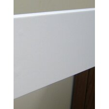 Full Size Bed Rail in White for Eastland or Jackson crib