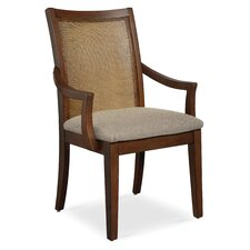 Claire de Lune Cane Arm Chair