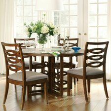 Claire de Lune 5 Piece Dining Set