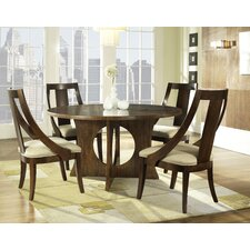 <strong>Somerton Dwelling</strong> Manhattan 5 Piece Dining Set