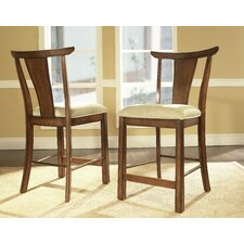 Dakota Barstools in Distressed Rich Brown