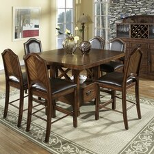<strong>Somerton Dwelling</strong> Barrington 7 Piece Counter Height Dining Set
