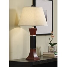 Wood Table Lamp