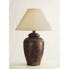 "30"" H Antique Bronze Table Lamp"