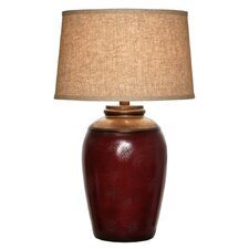 "29"" H Hand Applied Multi Color Table Lamp"