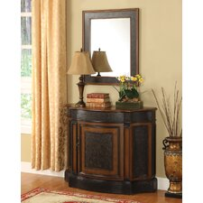 <strong>Anthony California</strong> Console Cabinet with Mirror