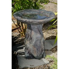 Temescal Envirostone Birdbath Fountain