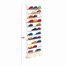 36 Pair OverDoor Shoe Rack