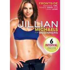 <strong>Gaiam</strong> Jillian Michaels Front Side DVD